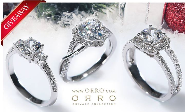 ORRO Singapore Giveaway NEW rings collection