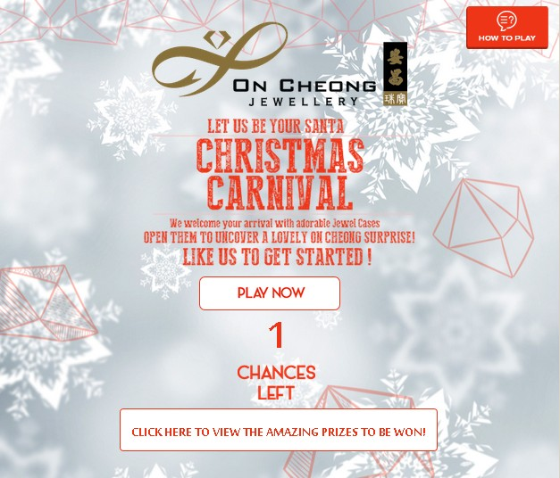 On Cheong Jewellery Christmas Carnival