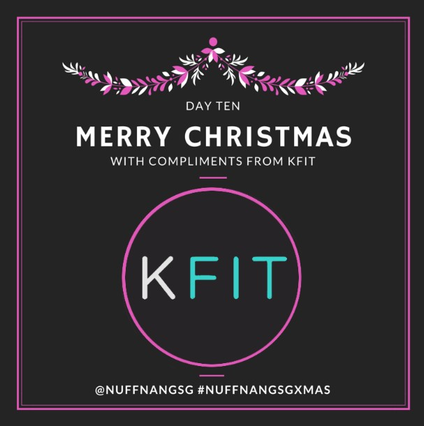 WIN KFit 1-month membership this Christmas at Nuffnang SG
