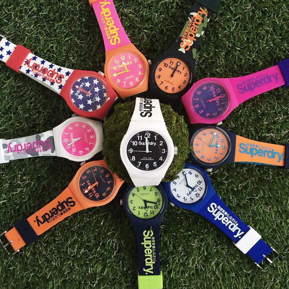 WIN Superdry watches at Nylon Singapore