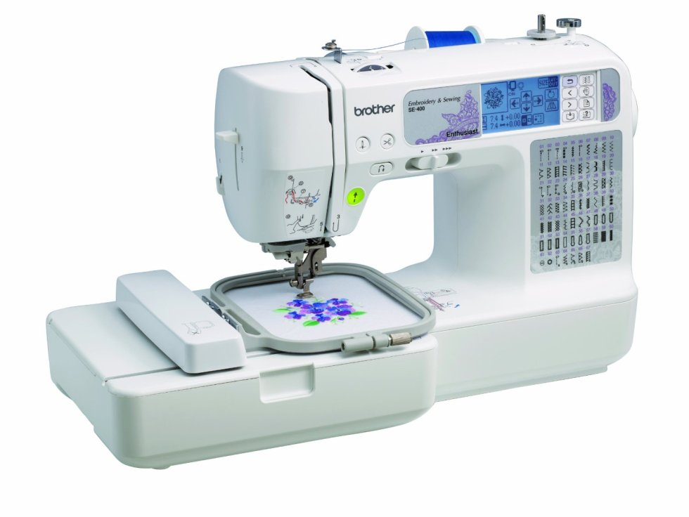 WIN This $450 Brother SE400 Computerized Sewing And Embroidery Machine at DIYReady