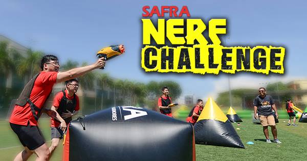 WIN a NERF Hamper (worth $50) at SAFRA Singapore