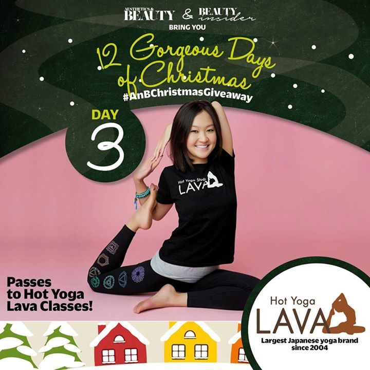 WIN a pair of free Yoga Lesson with Hot Yoga Lava at Aesthetics & Beauty Singapore