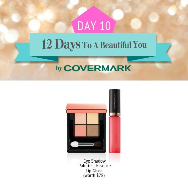 Win Eye Shadow Palette & Essence Lip Gloss at Covermark Singapore