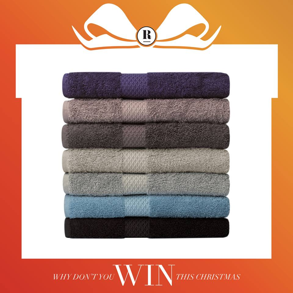 Win a Yves Dolorme Bath, Guest, and Wash Towel Set at Robinsons Singapore