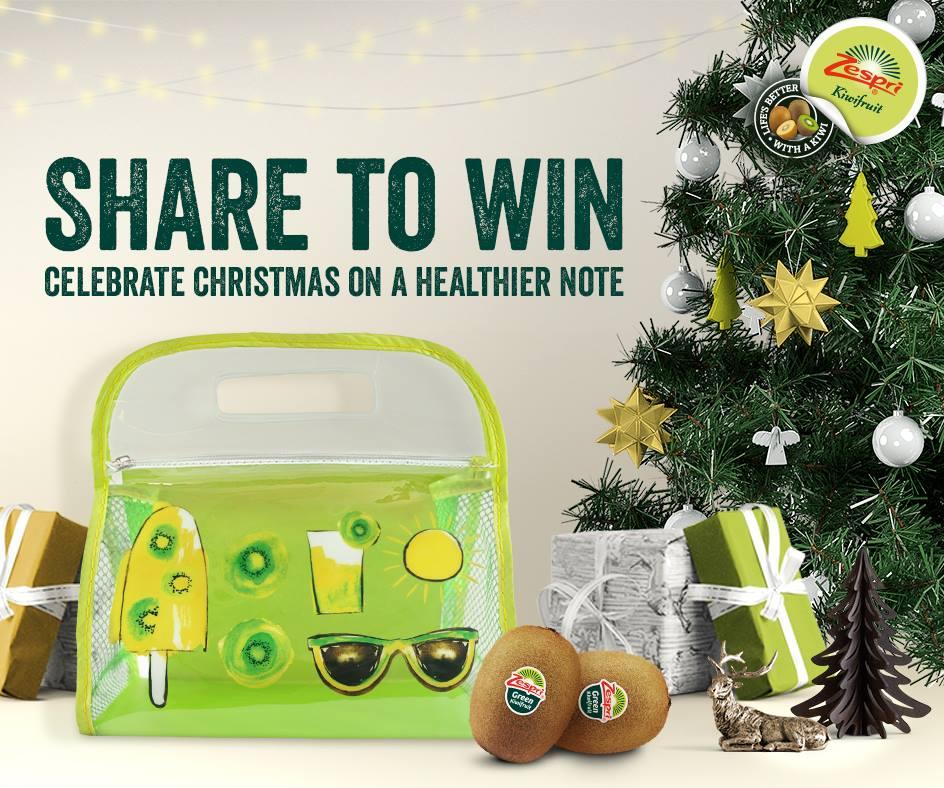 Win a Zespri Pouch at Zespri Kiwifruit Singapore