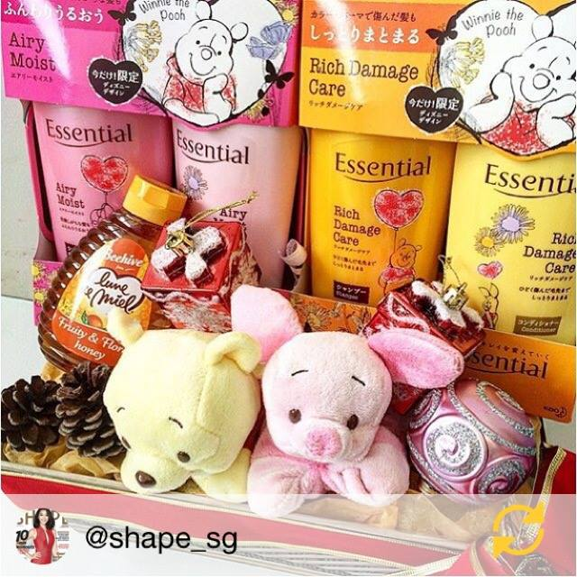 Win a limited edition Winnie the Pooh Essential packs at Essential Singapore