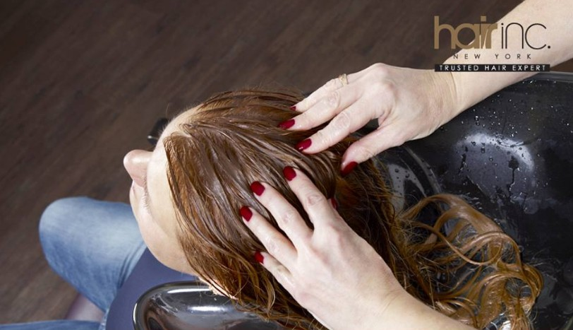 Complimentary Award Winning Ice Cool Scalp Therapy at Hair Inc. New York with CIMB