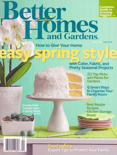 FREE one-year subscription to Better Homes and Gardens at Freebizmag