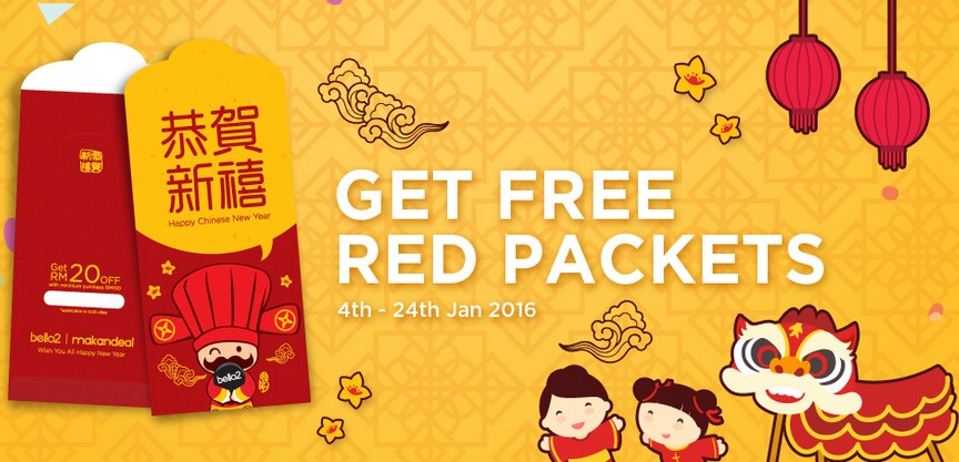Free Red Packets at Makandeal