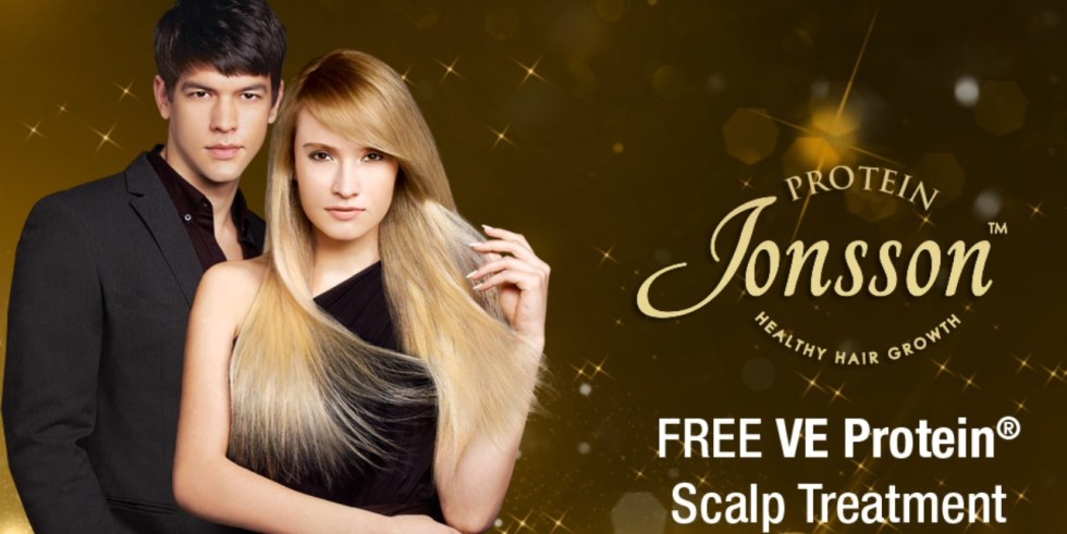 Free VE Protein Scalp Treatment at Jonsson Protein