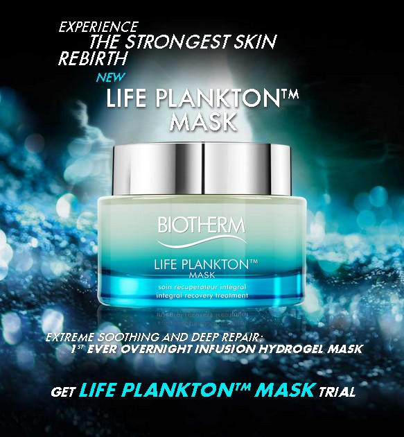 Get Biotherm Life Plankton Mask Trial
