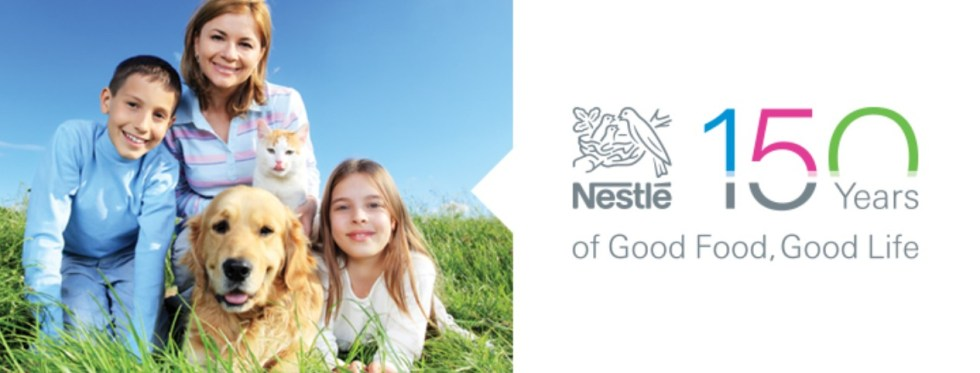 Nestle 150 Years of Good Food, Good Life