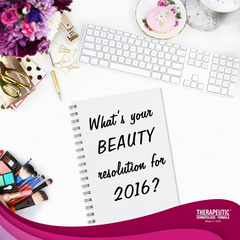 Share your new year resolution for beauty with us and stand to win a $5 Capitaland shopping voucher at Therapeutic Dermatologic Formula (TDF)