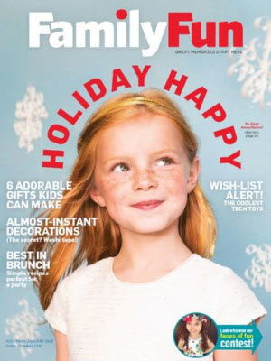 Sign up here for a complimentary one year subscription to FamilyFun