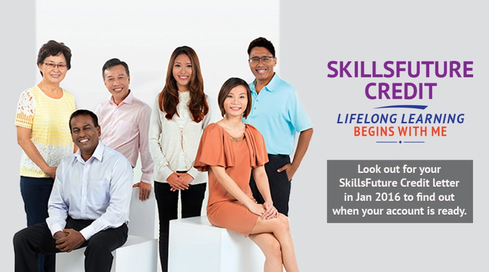 SkillsFuture Credit $500 to be Available from 1 January 2016