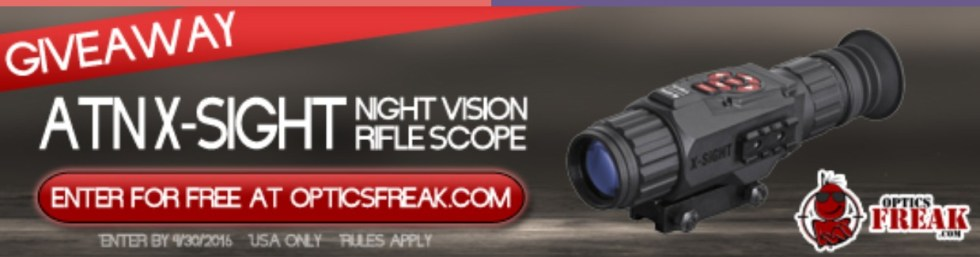 WIN ATN X-Sight Night Vision Scope