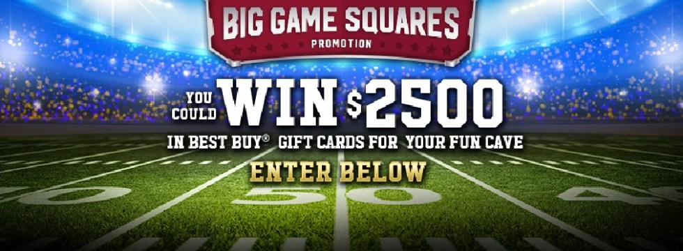 Win $2500 in Best Buy Gift Card at Treasure Cave Cheese