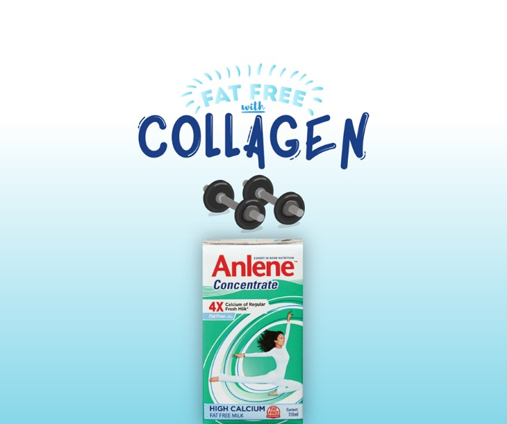 Win two packs of Anlene Concentrate at Anlene Singapore