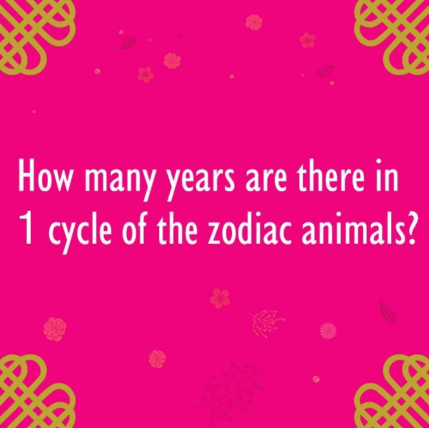 Be the last 12 winners to receive CNY giveaways by answering our final question at BHG Singapore