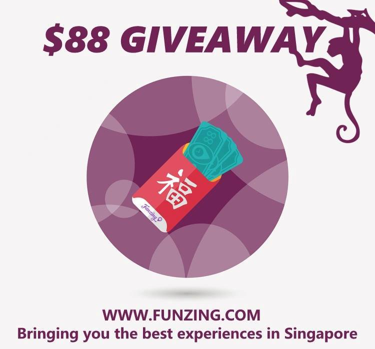 CNY GIVEAWAY at Funzing Singapore