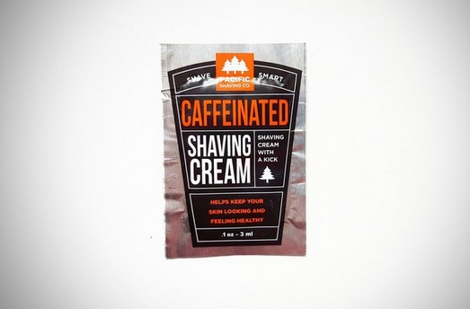 FREE Sirius-XM Promotion Caffeinated Shaving Cream Sample