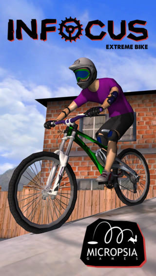 Free iOS Game INFOCUS Extreme Bike By Micropsia Games