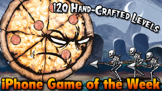 Free iOS Game Pizza Vs. Skeletons By Riverman Media LLC