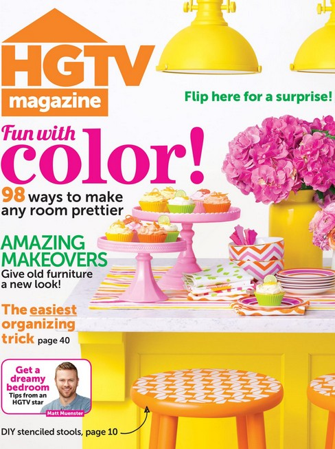 Get a FREE Issue of HGTV Magazine from Zinio©