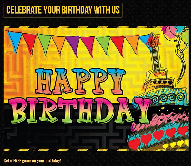 Get a FREE game on your birthday at EscapeRoom Malaysia