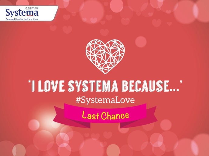 Last chance to grab one year worth of Systema supply for two at Keep Smiling Malaysia