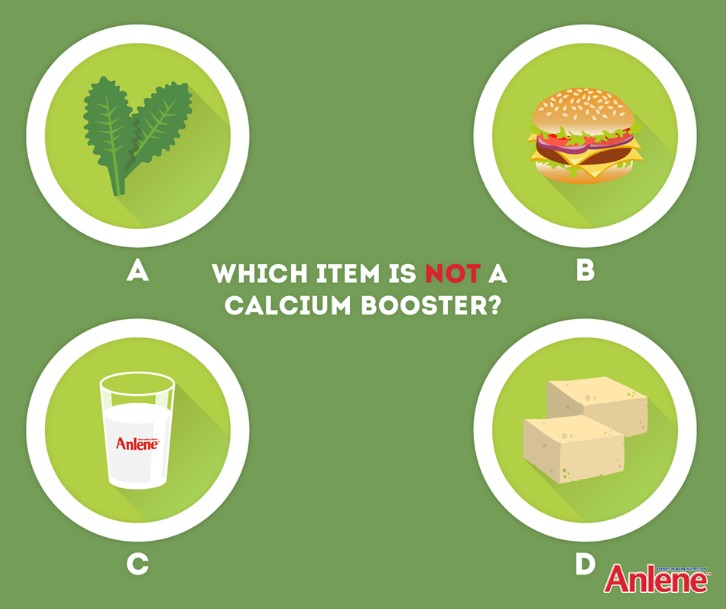 Leave a comment below with your answer by 25 Feb for a chance to win two packs of Anlene Concentrate!