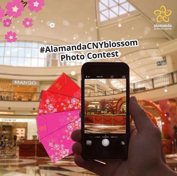 Let's join #AlamandaCNYBlossom Malaysia and win cash voucher this CNY