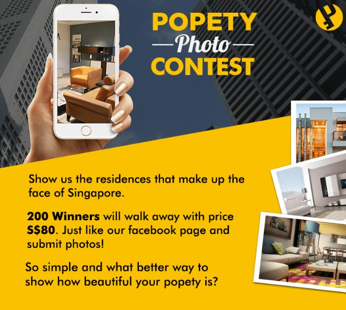 PROPERTIES PHOTO CONTEST - 200 x S$80 WINNERS !