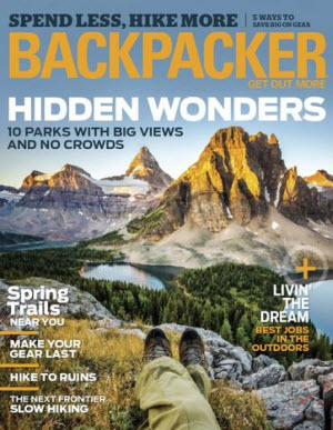 Sign up here for a one year digital subscription to Backpacker