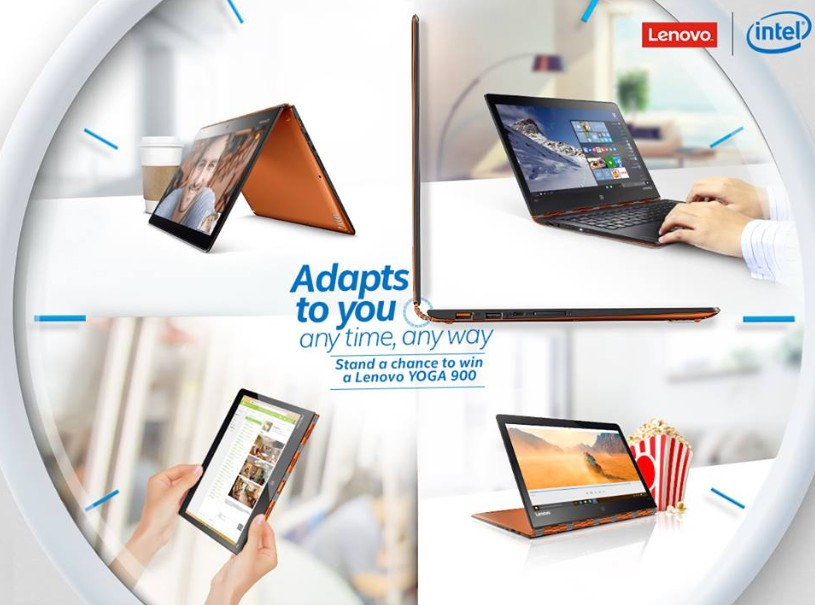 Stand to win a Lenovo YOGA 900 worth $2,599 at Intel Singapore