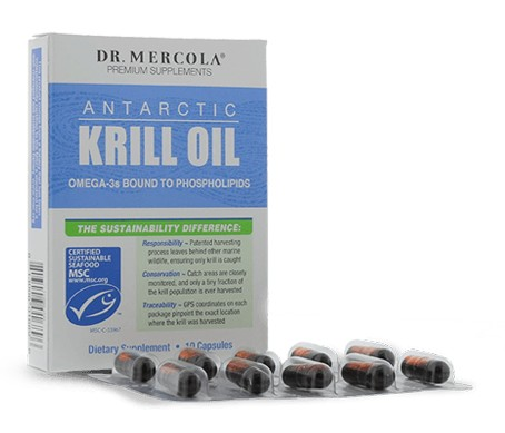 Try a FREE SAMPLE of Dr. Mercola's Unique Antarctic Krill Oil Now!