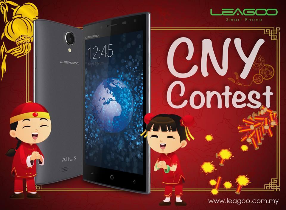 WIN 2 FRUIT LEAGOO ALFA 5 and 10 units of Lino Limited Edition CNY