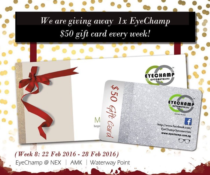 WIN $50 gift card at EyeChamp Singapore