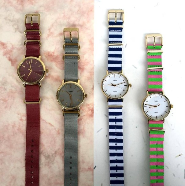 WIN Timex watches at Nylon Singapore