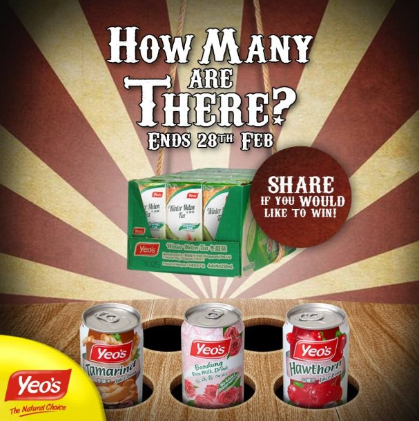 WIN an entire carton of Yeo's beverages