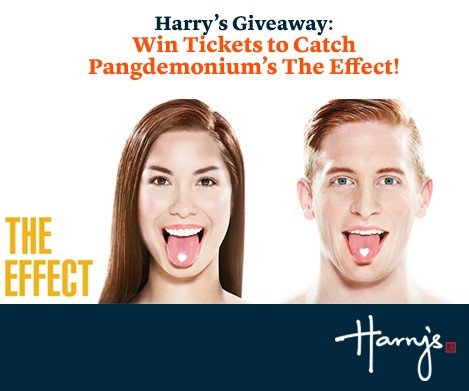 Win Pangdemonium's latest hit, The Effect at Harry's Bar Singapore