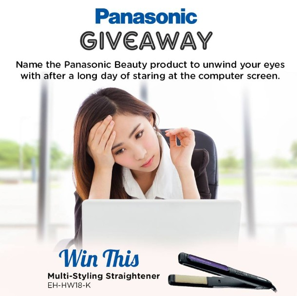 Win a Multi-Styling Straightener EH-HW18-K at Panasonic Malaysia