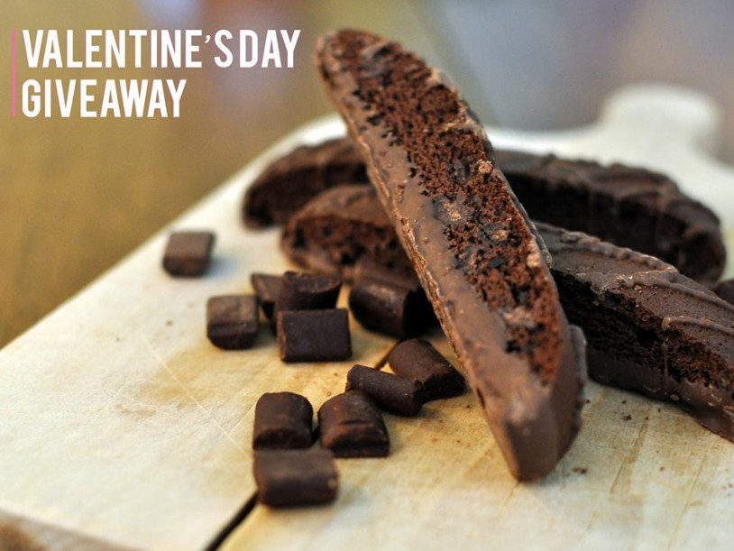 Win a free box of Nonni's Biscotti to express your love for someone