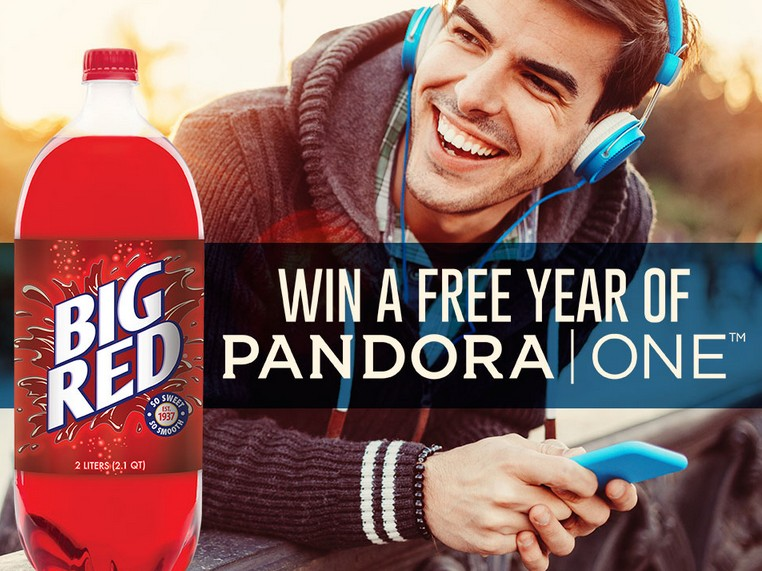 Win a free year of Pandora One