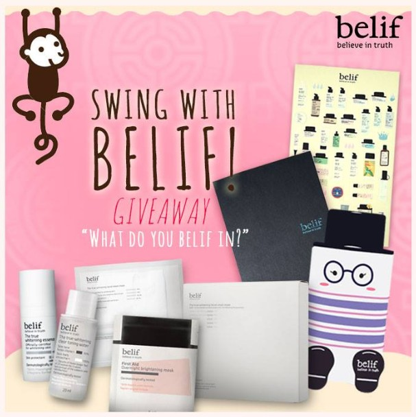 Win exclusive gift sets of Belif products at Belif Malaysia
