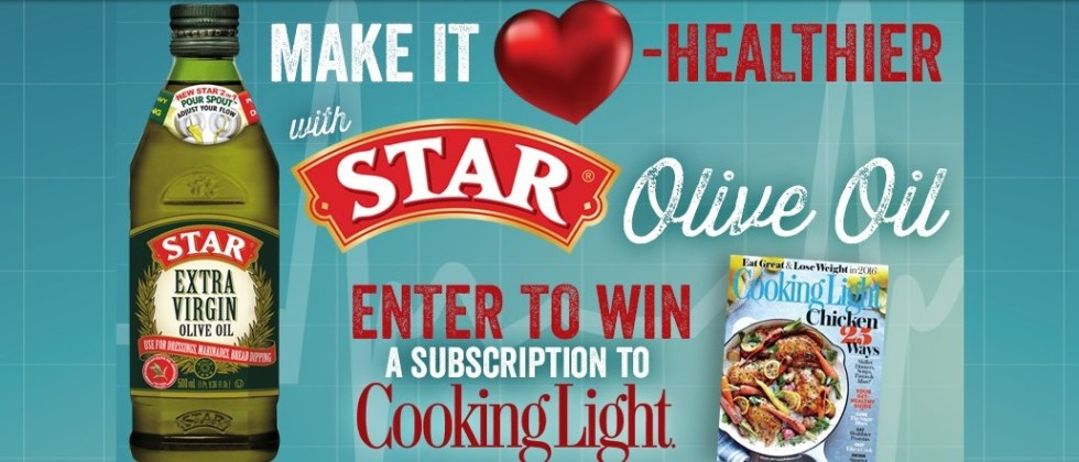 Win one of 1000 Cooking Light 6-month Magazine subscriptions