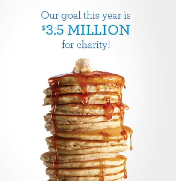 Enjoy a free short stack of Buttermilk pancakes at IHOP restaurants
