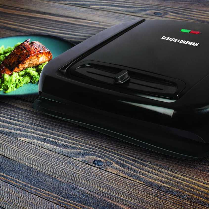 Enter to Win a 6-serving Removable Plate Grill at George Foreman Cooking
