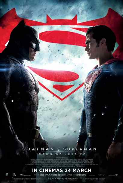 FREE Batman v Superman Dawn of Justice movie tickets & popcorn combo to GIVEAWAY at Golden Screen Cinemas